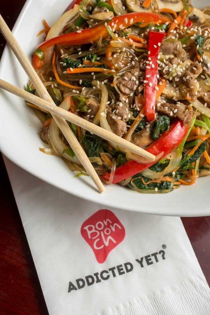 Japche by BonChon Chicken. Shot 06/10/15 in Dublin, Columbus (Sawmill Rd & State Route 161) for Alive Eat & Drink feature. (Meghan Ralston)