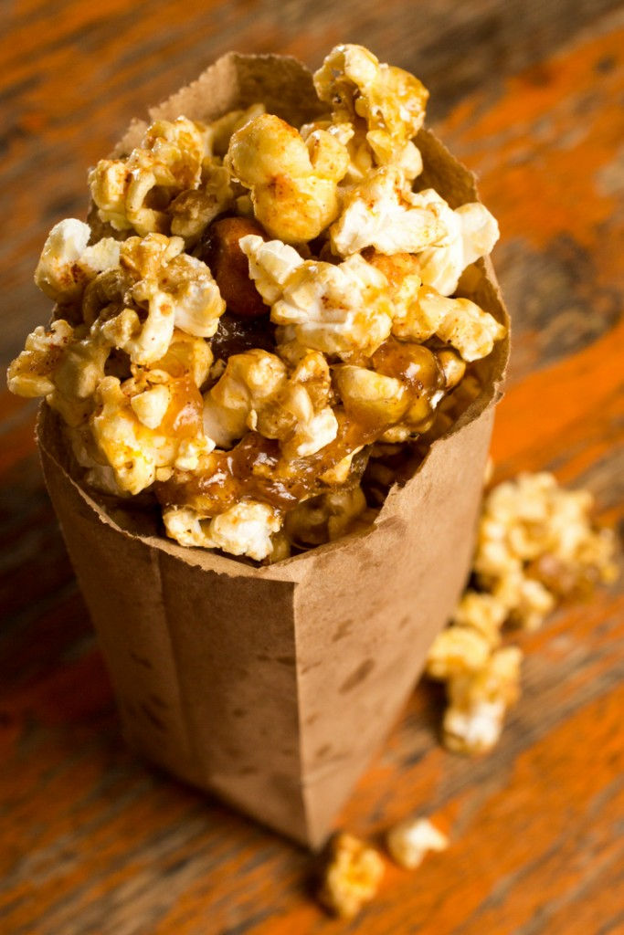 Homemade crackerjacks by Jailhouse Kitchen at Rambling House in Clintonville / South Hudson district, Columbus, Ohio. Shot 07/22/15 for Alive Eat & Drink Feature. (Meghan Ralston)